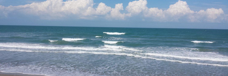 Blue Sky │ Waves